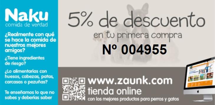 Cupón de descuento en Naku del 5% - Comprar Zaunk